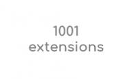 code-promo-1001 extensions